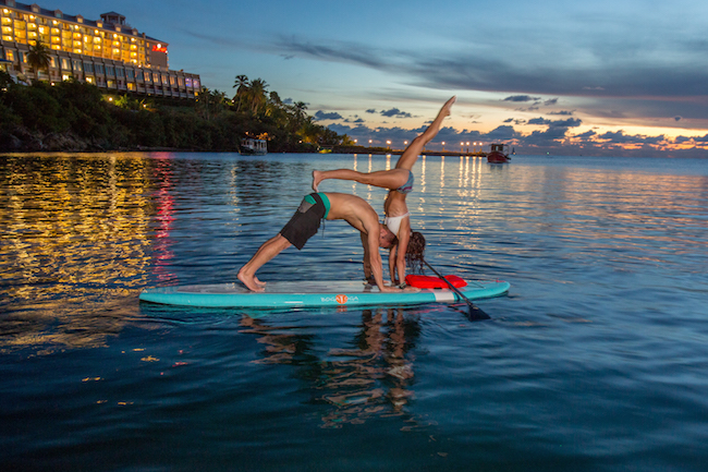 Frenchman's Reef_SUP Yoga
